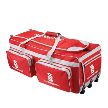 Image de Guildford CC Large Holdall - Red/Silver/White