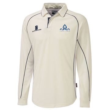 Picture of Chigwell School Long Sleeved Cricket Shirt