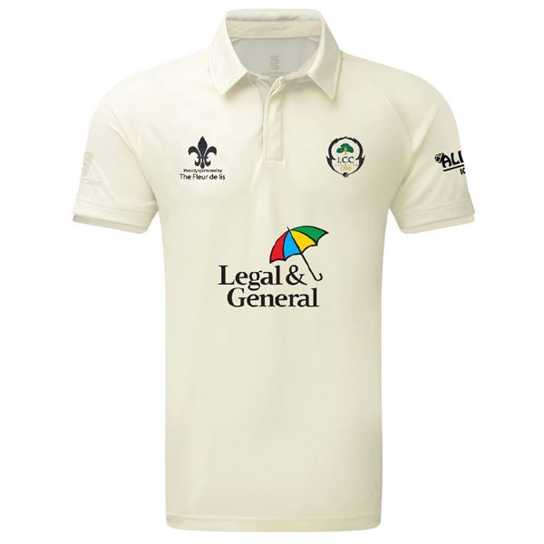 Afbeelding van Leigh CC tek short sleeve playing shirt