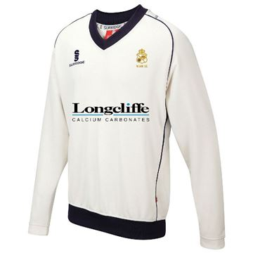 Picture of Wirksworth and Middleton CC Long Sleeved Sweater