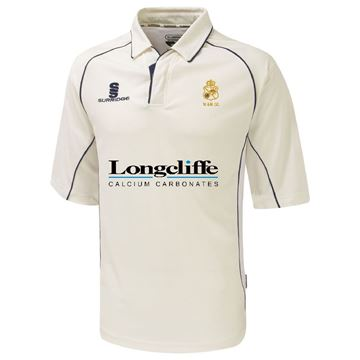 Picture of Wirksworth and Middleton CC Premier 3/4 sleeved playing shirt