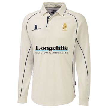 Picture of Wirksworth and Middleton CC Premier long sleeved playing shirt