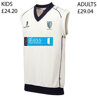 Picture of East Ardsley Utd CC Adults Curve Sleeveless Sweater (ADB2)
