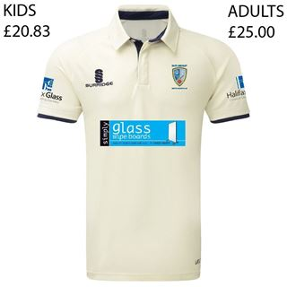 Image sur East Ardsley Utd CC Junior Tek Short Sleeved Playing Shirt  (JRB1)