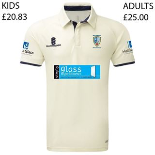 Picture of East Ardsley Utd CC Adults Tek Short Sleeved Playing Shirt  (ADB2)