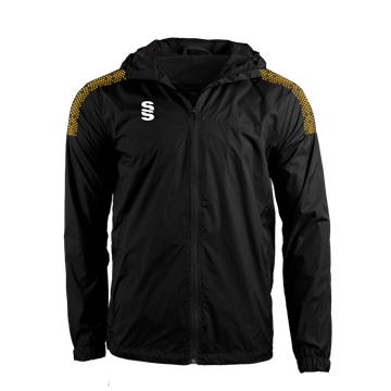 Image de DUAL FULL ZIP TRAINING JACKET - BLACK/AMBER