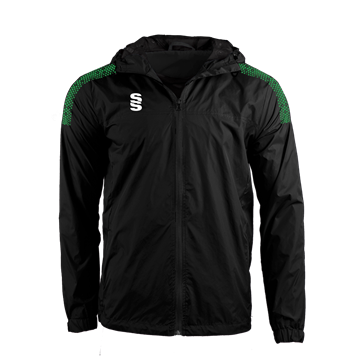 Image de DUAL FULL ZIP TRAINING JACKET - BLACK/EMERALD