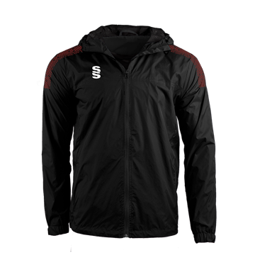 Image de DUAL FULL ZIP TRAINING JACKET - BLACK/MAROON