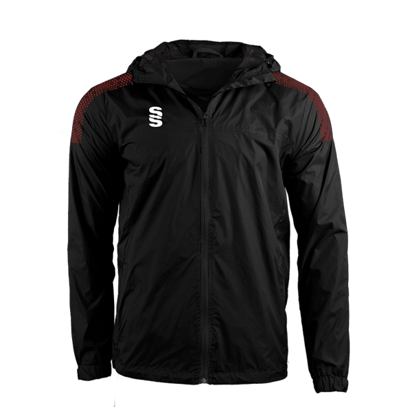 Image sur DUAL FULL ZIP TRAINING JACKET - BLACK/MAROON