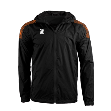 Bild von DUAL FULL ZIP TRAINING JACKET - BLACK/ORANGE