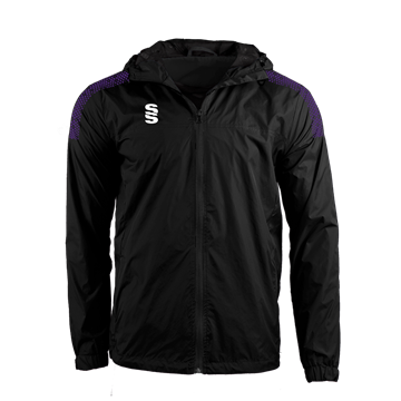 Image de DUAL FULL ZIP TRAINING JACKET - BLACK/PURPLE