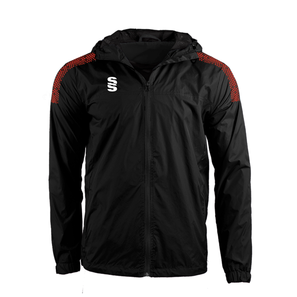 Image sur DUAL FULL ZIP TRAINING JACKET - BLACK/RED