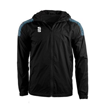 Image de DUAL FULL ZIP TRAINING JACKET - BLACK/SKY