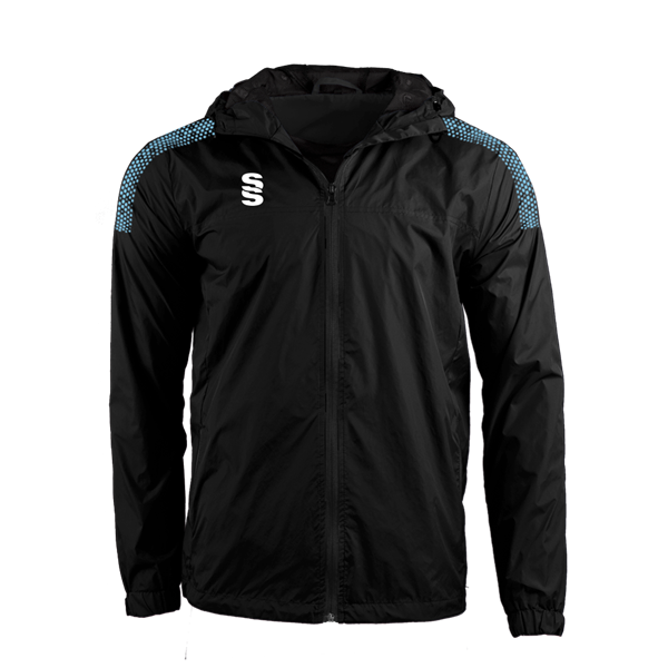 Image sur DUAL FULL ZIP TRAINING JACKET - BLACK/SKY