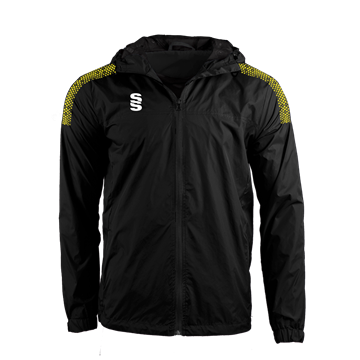 Image de DUAL FULL ZIP TRAINING JACKET - BLACK/YELLOW