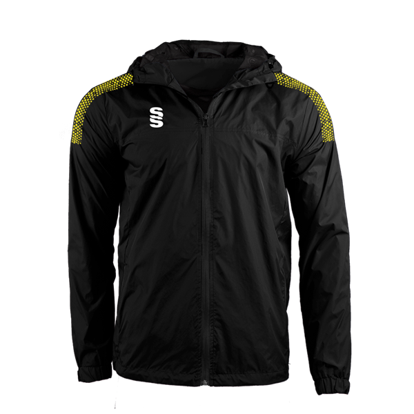 Picture of DUAL FULL ZIP TRAINING JACKET - BLACK/YELLOW
