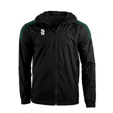Afbeeldingen van DUAL FULL ZIP TRAINING JACKET - BLACK/FOREST