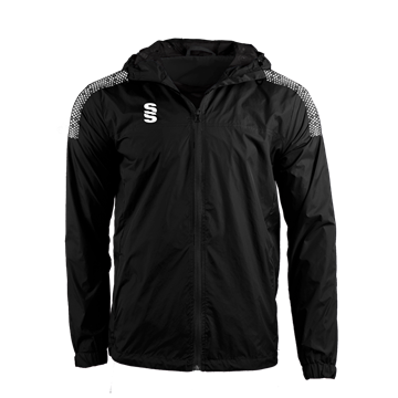 Image de DUAL FULL ZIP TRAINING JACKET - BLACK/WHITE