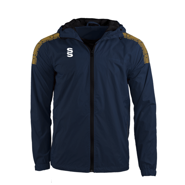Bild von DUAL FULL ZIP TRAINING JACKET - NAVY/AMBER