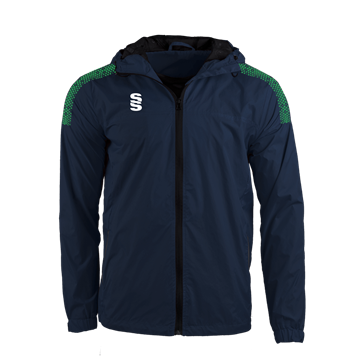 Image de DUAL FULL ZIP TRAINING JACKET - NAVY/EMERALD