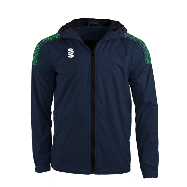 Image sur DUAL FULL ZIP TRAINING JACKET - NAVY/EMERALD
