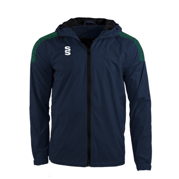 Afbeeldingen van DUAL FULL ZIP TRAINING JACKET - NAVY/FOREST