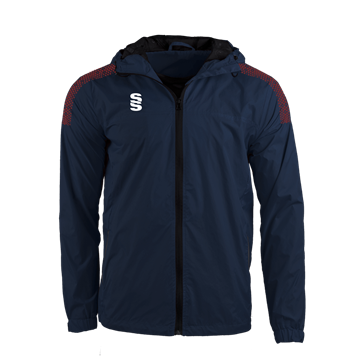 Afbeeldingen van DUAL FULL ZIP TRAINING JACKET - NAVY/MAROON