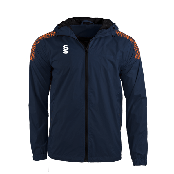 Bild von DUAL FULL ZIP TRAINING JACKET - NAVY/ORANGE
