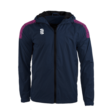 Image de DUAL FULL ZIP TRAINING JACKET - NAVY/PINK