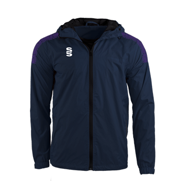 Image de DUAL FULL ZIP TRAINING JACKET - NAVY/PURPLE