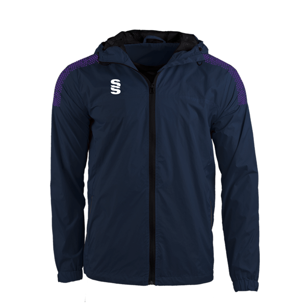 Imagen de DUAL FULL ZIP TRAINING JACKET - NAVY/PURPLE