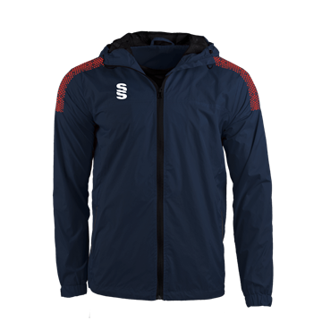 Image de DUAL FULL ZIP TRAINING JACKET - NAVY/RED