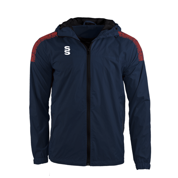 Picture of DUAL FULL ZIP TRAINING JACKET - NAVY/RED