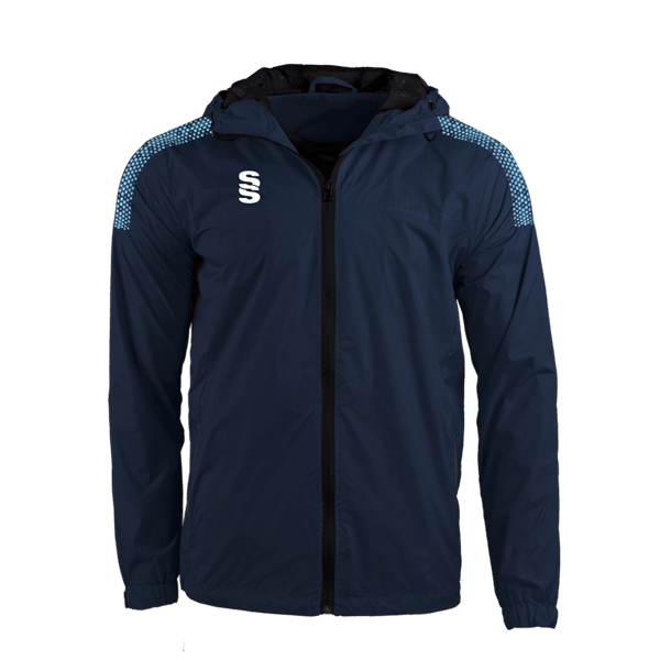 Bild von DUAL FULL ZIP TRAINING JACKET - NAVY/SKY