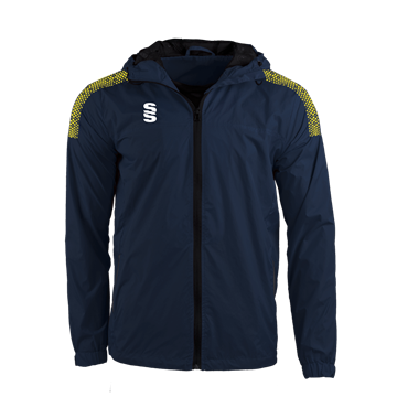 Image de DUAL FULL ZIP TRAINING JACKET - NAVY/YELLOW