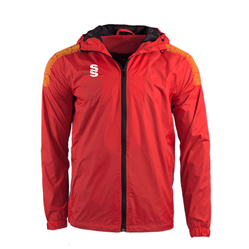 Image de DUAL FULL ZIP TRAINING JACKET - RED/AMBER