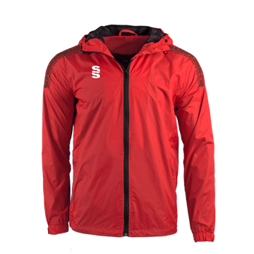 Image de DUAL FULL ZIP TRAINING JACKET - RED/BLACK