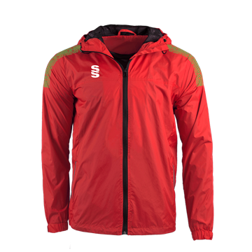 Image de DUAL FULL ZIP TRAINING JACKET - RED/EMERALD