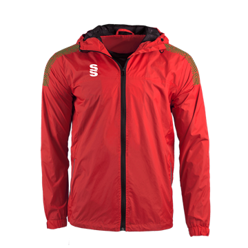 Image de DUAL FULL ZIP TRAINING JACKET - RED/FOREST