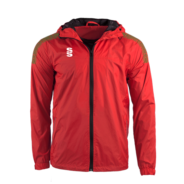 Picture of DUAL FULL ZIP TRAINING JACKET - RED/FOREST