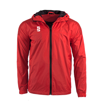Image de DUAL FULL ZIP TRAINING JACKET - RED/MAROON