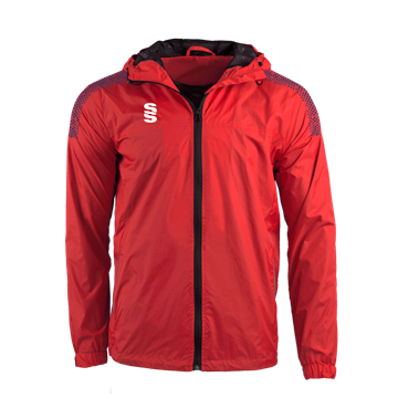 Image de DUAL FULL ZIP TRAINING JACKET - RED/NAVY