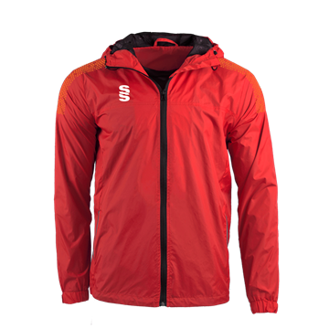 Bild von DUAL FULL ZIP TRAINING JACKET - RED/ORANGE