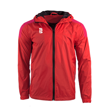 Afbeeldingen van DUAL FULL ZIP TRAINING JACKET - RED/PINK