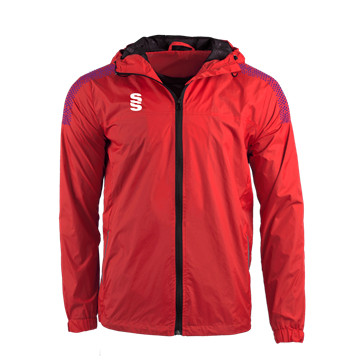 Picture of DUAL FULL ZIP TRAINING JACKET - RED/PURPLE