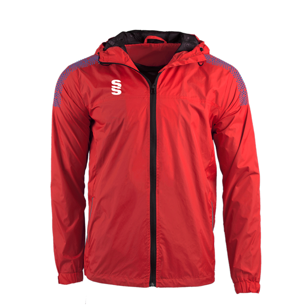 Picture of DUAL FULL ZIP TRAINING JACKET - RED/ROYAL