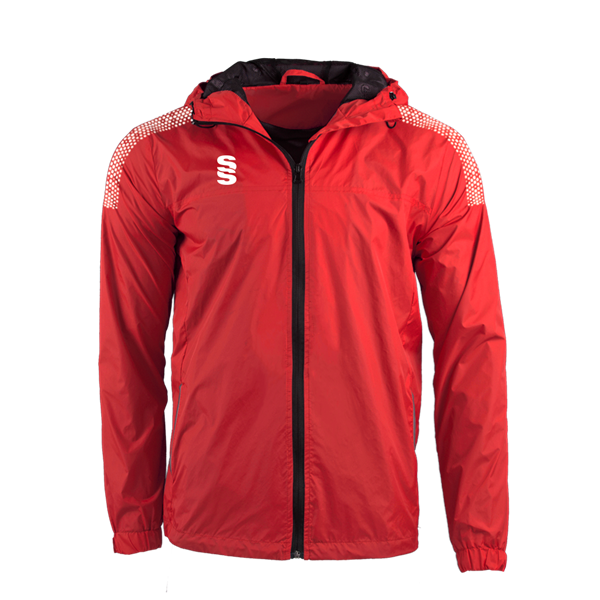 Picture of DUAL FULL ZIP TRAINING JACKET - RED/WHITE