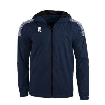Image de DUAL FULL ZIP TRAINING JACKET - NAVY/WHITE