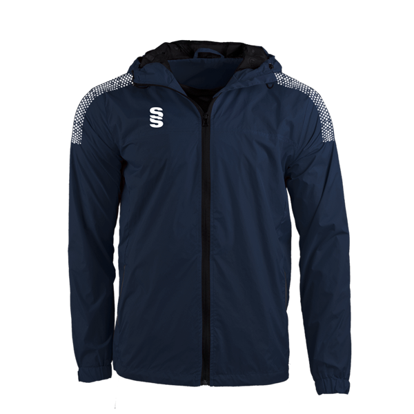 Picture of DUAL FULL ZIP TRAINING JACKET - NAVY/WHITE