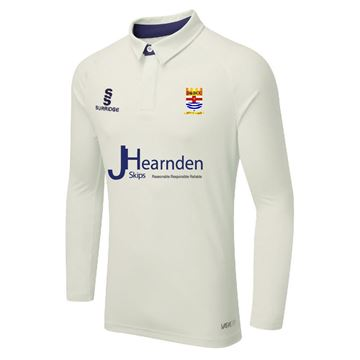 Afbeeldingen van Downham and Bellingham Cricket Club ls Tek shirt